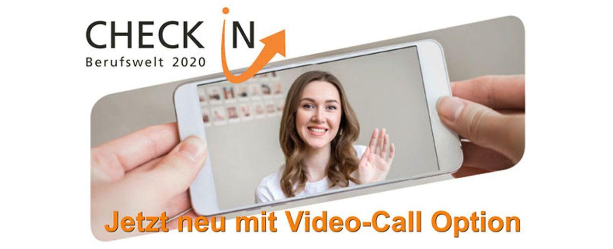Checkin Berufswelt - Call